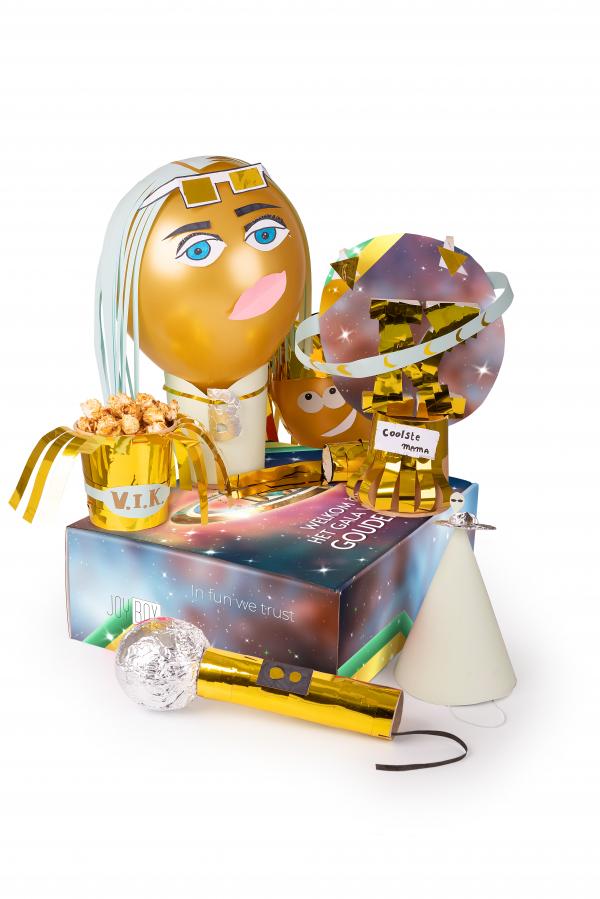 Gouden K galabox