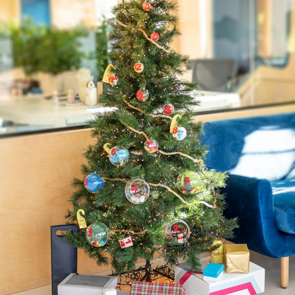 Xmas tree gift game